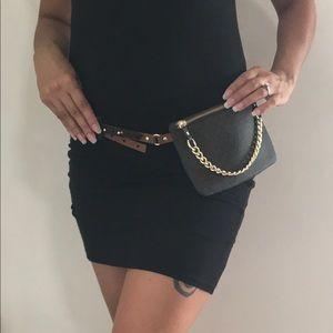 Michael Kors Bags - MK Belt Bag Pull Chain LARGE Michael Kors 8755548b0545b